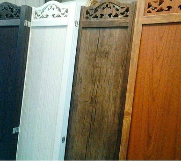 پاراوان چوبی ساده