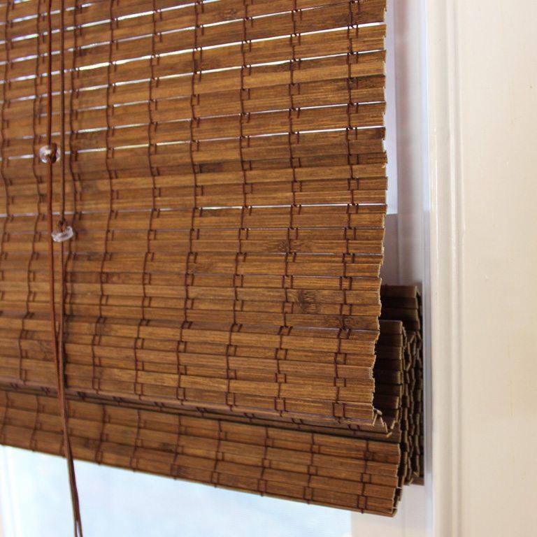 پرده حصیر بامبو