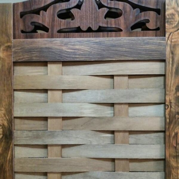 پاراوان چوبی طرح کرکره