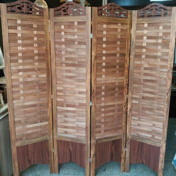 پارتیشن متحرک چوبی
